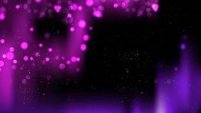 Abstract Purple and Black Blurred Bokeh Background Illustration. Beautiful elegant Illustration graphic art design vector illustration
