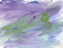 Abstract purple, blue and green gouache background. Handmade artistic violet paint texture for desktop wallpaper royalty free illustration
