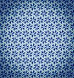 Abstract purple blue pattern wallpaper Stock Image