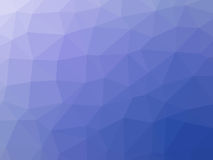 Abstract purple blue polygonal background. Abstract purple blue gradient low polygon shaped background Royalty Free Stock Photo