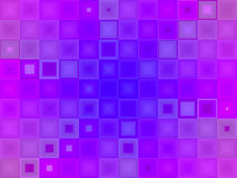 Abstract purple blue tile stock photography