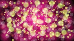 Abstract purple blurred background with bokeh effect. Magical bright festive multicolored beautiful glowing shiny with light spots. Round circles. Texture royalty free illustration