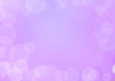 Abstract purple blurred bokeh background Royalty Free Stock Photos