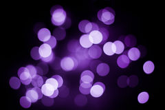 Abstract purple  bokeh background Royalty Free Stock Photos