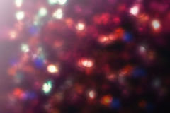 Abstract purple bokeh Christmas background. Modern simple flat s. Ign. Trendy valentine decoration symbol for website design Royalty Free Stock Image