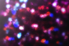 Abstract purple bokeh Christmas background. Modern simple flat s. Ign. Trendy valentine decoration symbol for website design Stock Photo