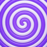 Abstract purple candy spiral background Stock Image