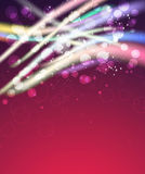 Abstract purple celebration background Royalty Free Stock Photography