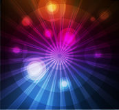 Abstract purple circles background Stock Images