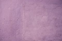 Abstract purple concrete cement plaster wall Stock Photography
