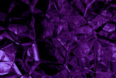 Abstract purple crystal background Stock Photos