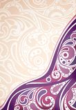 Abstract Purple Curve Background Royalty Free Stock Photography