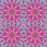 Violet seamless pattern Stock Photography