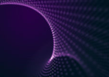 Abstract purple depth Royalty Free Stock Image