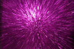 Abstract purple explosion Stock Photography