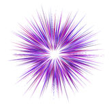 Abstract purple explosion design background Royalty Free Stock Photos