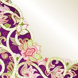 Abstract Purple Floral Royalty Free Stock Images