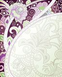 Abstract Purple Floral Background Royalty Free Stock Photos