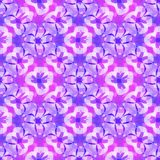 Abstract purple floral pattern, Violet tiled texture background, Seamless illustration royalty free illustration
