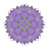 Abstract purple flower Royalty Free Stock Image