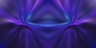 Abstract purple futuristic neon galaxy. Abstract purple fictional futuristic galaxy with neon effect royalty free illustration