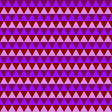 Abstract purple geometric seamless pattern Royalty Free Stock Images