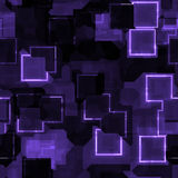 Abstract purple glow background Royalty Free Stock Photography