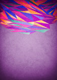 Abstract purple glowing background Stock Photography