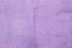 Abstract purple hessian fabric texture background. Blank purple texture background royalty free stock images