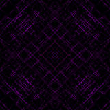Abstract purple light lines on black background Stock Photos