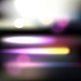 Abstract purple lights Royalty Free Stock Image