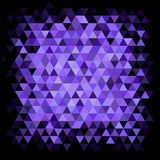 Abstract purple mosaic Royalty Free Stock Photo