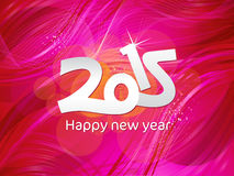 Abstract purple new year text Stock Photography