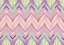 Abstract Purple pink green Zigzag pattern. Royalty Free Stock Photo