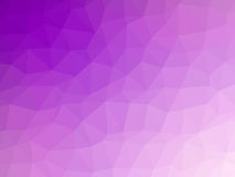 Abstract purple polygon shaped background. Abstract purple white gradient low polygon shaped background Stock Photography