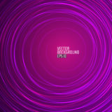 Abstract Purple Round Background. Vector Royalty Free Stock Photo