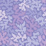 Abstract purple shapes seamless pattern background Stock Photo
