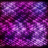 Abstract purple shining background Stock Image
