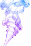 Abstract purple smoke background Stock Photography