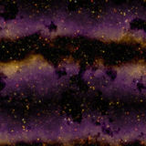 Abstract purple space nebula Royalty Free Stock Images