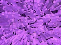 Abstract purple texture Stock Image