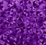 Abstract Purple Triangle Background Royalty Free Stock Photo