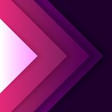 Abstract purple triangle shapes background Stock Photography