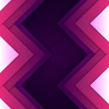 Abstract purple triangle shapes background Stock Images