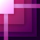 Abstract purple triangle shapes background Stock Photos