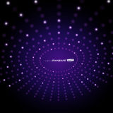 Abstract Purple Vector Background Royalty Free Stock Photography