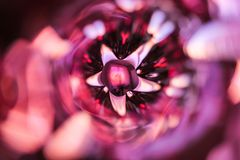 Abstract purple or violet background with glass texture and copyspace stock image