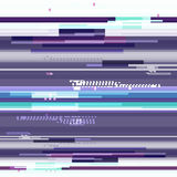 Abstract purple wallpaper in the style of a glitch pixel. Purple geometric pattern noise. Grunge, modern background with Stock Photos