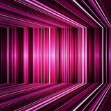 Abstract Purple Warped Stripes Background Stock Photo