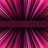 Abstract purple warped stripes background Stock Photos